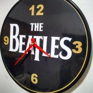 THE BEATLES - 12 INCH WALL CLOCK